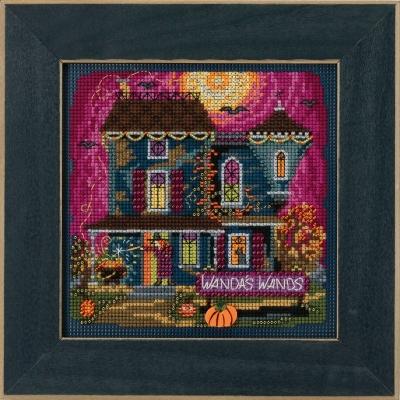 "Набор для вышивания ""Wanda's Wands • Волшебные палочки Ванды"" Mill Hill MH141822"