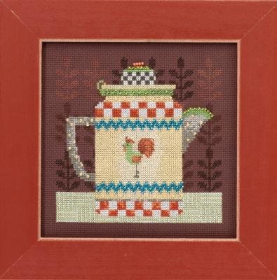 """Набор для вышивания """"Coffee Pot • Кофейник"""" Mill Hill DM301611"""