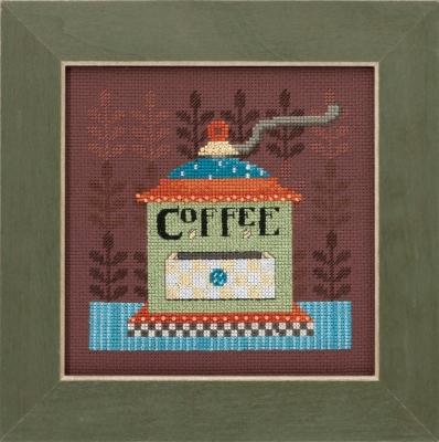 "Набор для вышивания ""Coffee Grinder • Кофемолка"" Mill Hill DM301612"