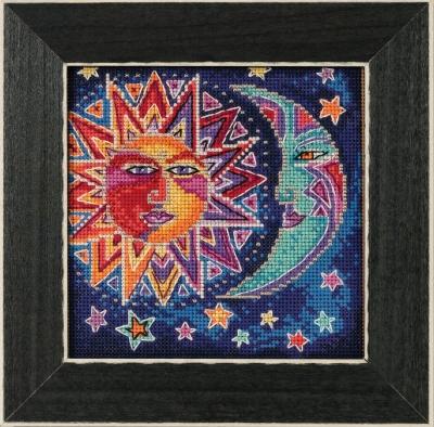 """Набор для вышивания """"Sun and Moon • Солнце и Луна"""" Mill Hill LB141813"""