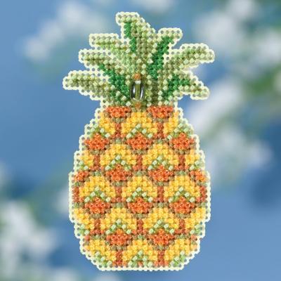 """Набор для вышивания """"Pineapple • Ананас"""" Mill Hill MH181816"""