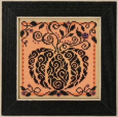 "Набор для вышивания ""Enchanted Pumpkin • Зачарованная тыква"" Mill Hill MH141821"