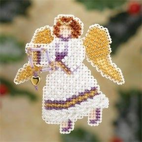 """Набор для вышивания """"Snow Angel • Снежный Ангел"""" Mill Hill MH187306"""