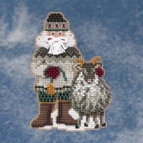 "Набор для вышивания ""Greenland Santa • Гренландский Санта"" Mill Hill MH209301"