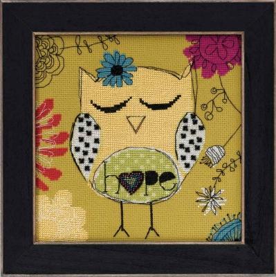 """Набор для вышивания """"Hope • Надежда"""" Mill Hill AW304104"""