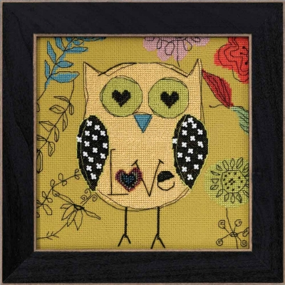 """Набор для вышивания """"Love • Любовь"""" Mill Hill AW304106"""
