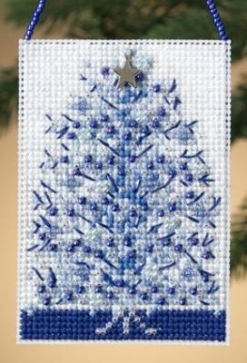 "Набор для вышивания ""Silvery Tree  • Серебрянная елка"" Mill Hill MH160303"