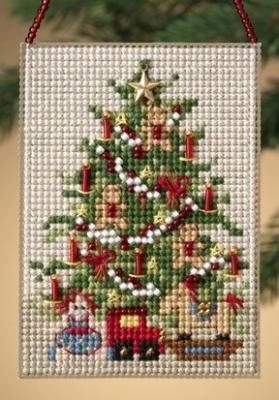 "Набор для вышивания ""Old Fashioned Tree • Старомодная елка"" Mill Hill MH160305"