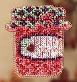 """Набор для вышивания """"Berry Jam • Ягодное варенье"""" Mill Hill MH182201"""