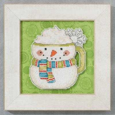 "Набор для вышивания ""Frosty Mug • Морозная кружка"" Mill Hill DM205103"