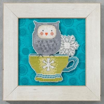 """Набор для вышивания """"Warm & Wise • Теплый и мудрый"""" Mill Hill DM205104"""