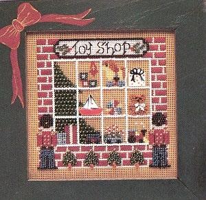 """Набор для вышивания """"Toy Shop • Магазин Игрушек"""" Mill Hill MHCB75"""