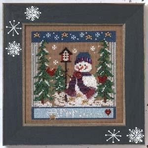 """Набор для вышивания """"Winter Chill • Зимний холод"""" Mill Hill MHCB245"""