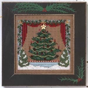 """Набор для вышивания """"Royal Tannenbaum • Раскошная елка"""" Mill Hill MHCB246"""