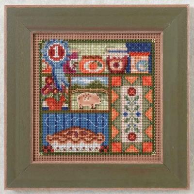 """Набор для вышивания """"County Fair • Деревенская ярмарка"""" Mill Hill MH144201"""