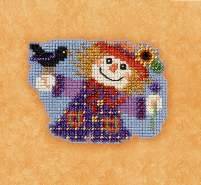 """Набор для вышивания """"Sally Scarecrow • Пугало Салли"""""""" Mill Hill MH181723"""