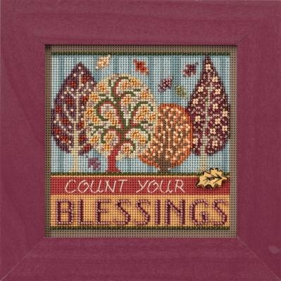 """Набор для вышивания """"Blessings • Blessings"""" Mill Hill MH141725"""