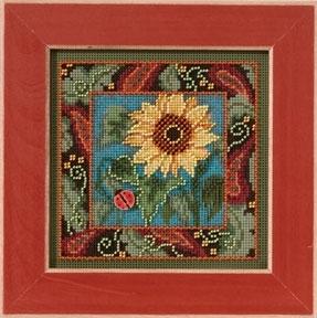"""Набор для вышивания """"Sunflower • Подсолнух"""" Mill Hill MH143201"""