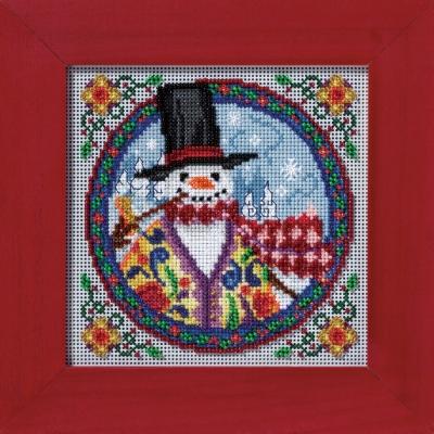 """Набор для вышивания """"Eastern Snowman • Восточный снеговик"""" Mill Hill JS149103"""