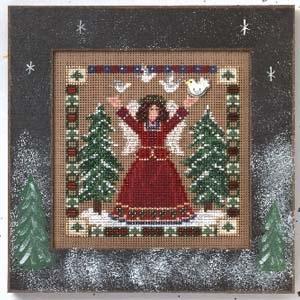 """Набор для вышивания """"Woodland Grace • Лесная Благодать"""" Mill Hill MHCB244"""