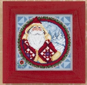 "Набор для вышивания ""Kris Kringle • Крис Криндл"" Mill Hill JS149203"