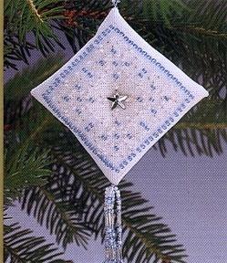"""Набор для вышивания """" Blue Crystal Star • Голубая кристальная звезда"""" Mill Hill MHTD3"""