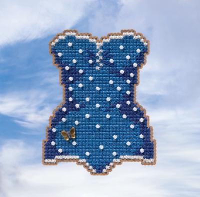 """Набор для вышивания """"Swimsuit • Купальник"""" Mill Hill MH181915"""