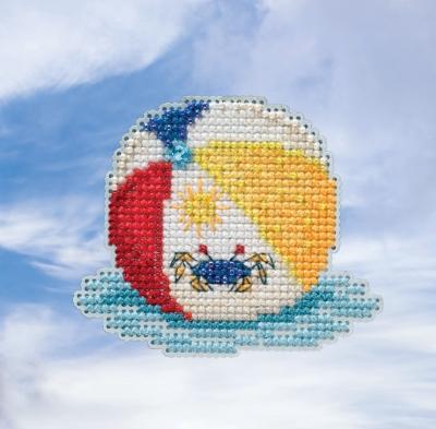 """Набор для вышивания """"Beach Ball • Пляжный мяч"""" Mill Hill MH181916"""