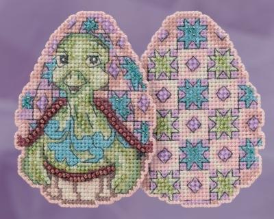 """Набор для вышивания """"Turtle Egg • Черепашка"""" Mill Hill JS181813"""