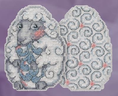 """Набор для вышивания """"Sheep Egg • Овечка"""" Mill Hill JS181815"""