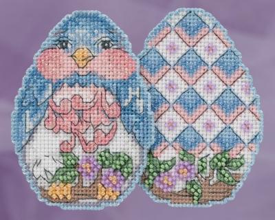 """Набор для вышивания """"Bluebird Egg • Птичка"""" Mill Hill JS181816"""