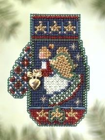"""Набор для вышивания """"Angel Heart • Ангел из сердцем"""" Mill Hill MHCM50"""