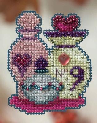 """Набор для вышивания """"Love Potions • Любовные зелья"""" Mill Hill MH184203"""