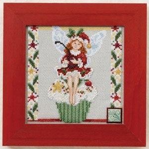 """Набор для вышивания """"Cupcake Fairy • Фея кексиков"""" Mill Hill JS301102"""