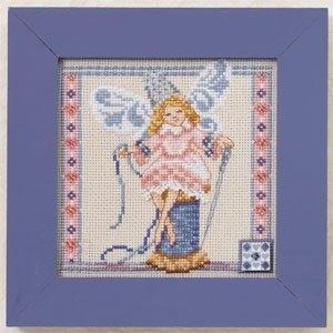"""Набор для вышивания """"Needlework Fairy • Фея вышивания"""" Mill Hill JS301104"""