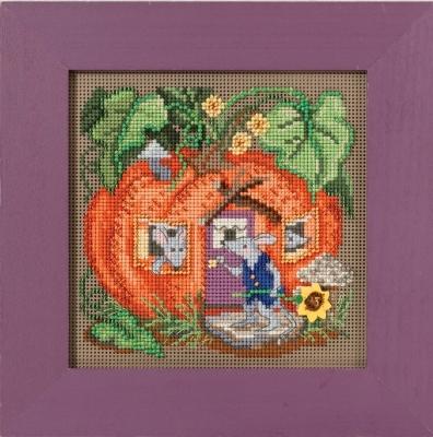 """Набор для вышивания """"Mouse House • Мышиный дом"""" Mill Hill MH141625"""