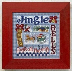 "Набор для вышивания ""Jingle Bells • Колокольчики"" Mill Hill MH148306"