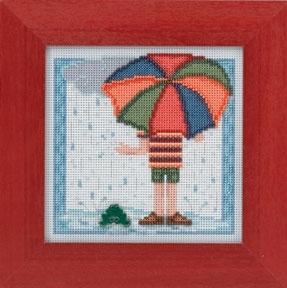 """Набор для вышивания """"Rainy Day • Дождливый день"""" Mill Hill MH144104"""