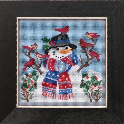 "Набор для вышивания ""Winter Welcome • Привет зима"" Mill Hill MH141931"