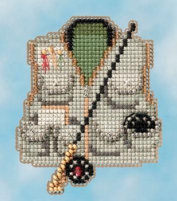 """Набор для вышивания """"Fishing Vest • Рыболовный жилет"""" Mill Hill MH181614"""