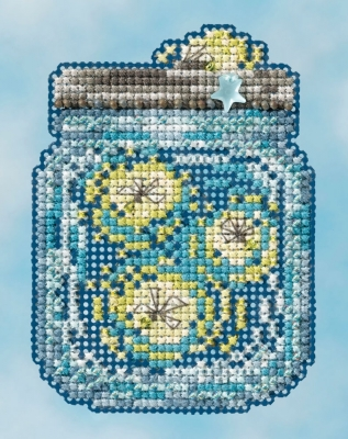 "Набор для вышивания ""Fireflies • Светлячки"" Mill Hill MH181616"
