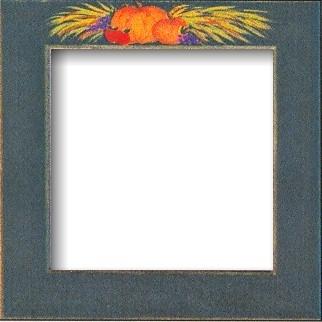 Оригинальная рамка Matte Green w/Pumpkins для наборов Mill Hill