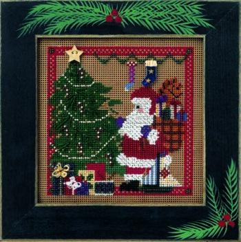 """Набор для вышивания """"Santa's Visit • Визит Санты"""" Mill Hill"""