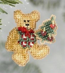 """Набор для вышивания """"Teddy's Tree • Елка для Тедди"""" Mill Hill"""