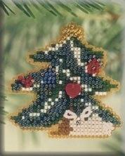 """Набор для вышивания """"Woodland Tree • Лесное дерево"""" Mill Hill"""