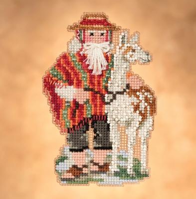 "Набор для вышивания ""Andes Santa • Андес Санта"" Mill Hill"