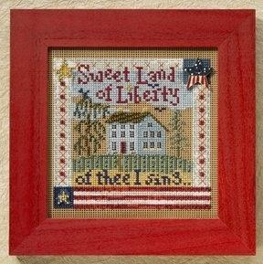 """Набор для вышивания """"Sweet Liberty • Сладкая Свобода"""" Mill Hill"""