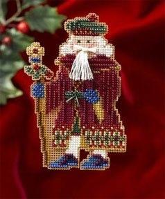"Набор для вышивания ""Avignon Santa • Авиньйонский Санта"" Mill Hill"