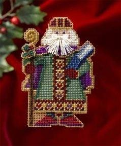 """Набор для вышивания """"Saxony Santa • Санта Саксонии"""" Mill Hill"""