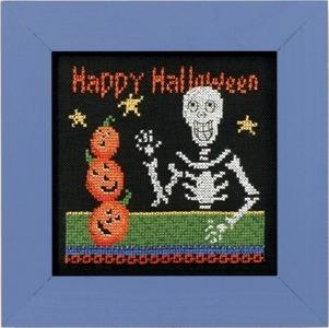 """Набор для вышивания """"Happy Skeleton • Счастливый скелет"""" Mill Hill"""